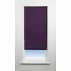 Universal Plain Blackout Blind 120cm wide 170cm Grape